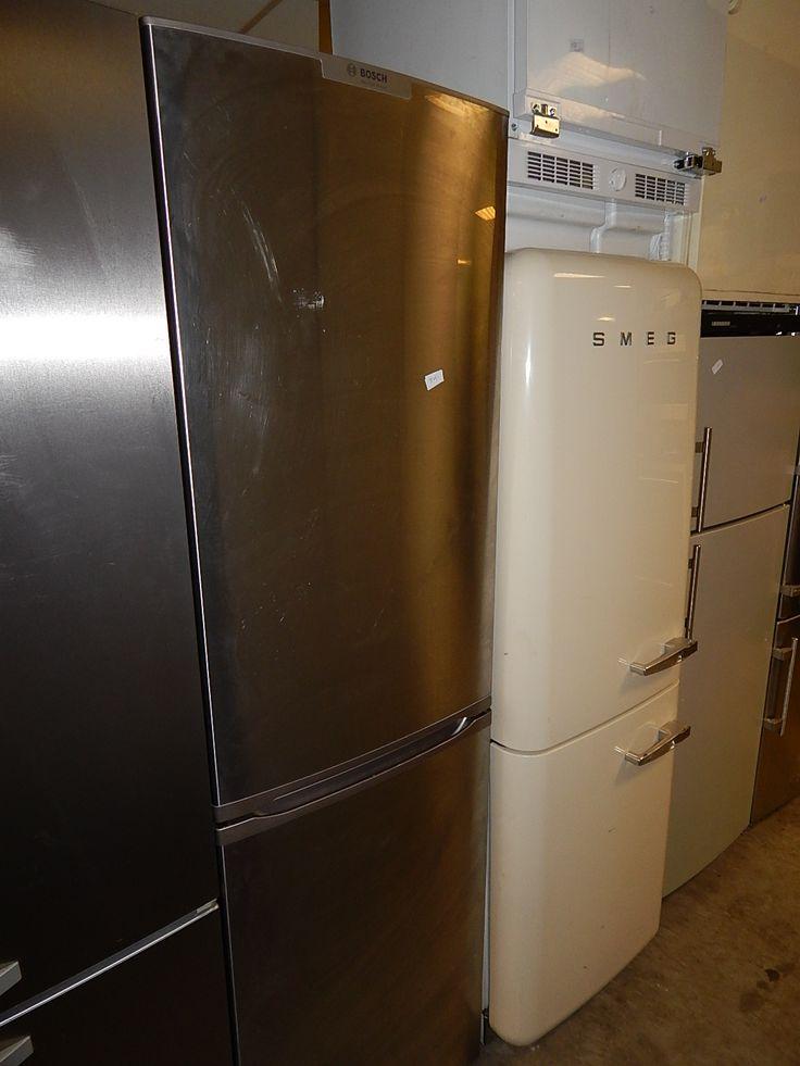 Deze tweedehands Bosch RVS koelkast verkeert in een zeer goede en nette staat en bieden we u goedkoop aan met 6 maanden garantie.