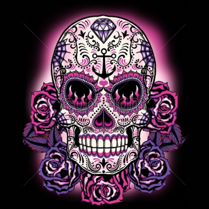 139 Best Sugar Skulls Images On Pinterest