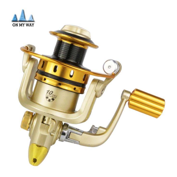 New cheapest spinning fishing reel MR500 - 7000 Series Aluminum Spool 10BB carretilha para pesca fishing wheel