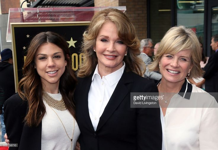 Actresses Kate Mansi, Deidre Hall and Mary Beth Evans attend Deidre Hall being honored with a Star on the Hollywood Walk of Fame on May 19, 2016 in Hollywood, California.