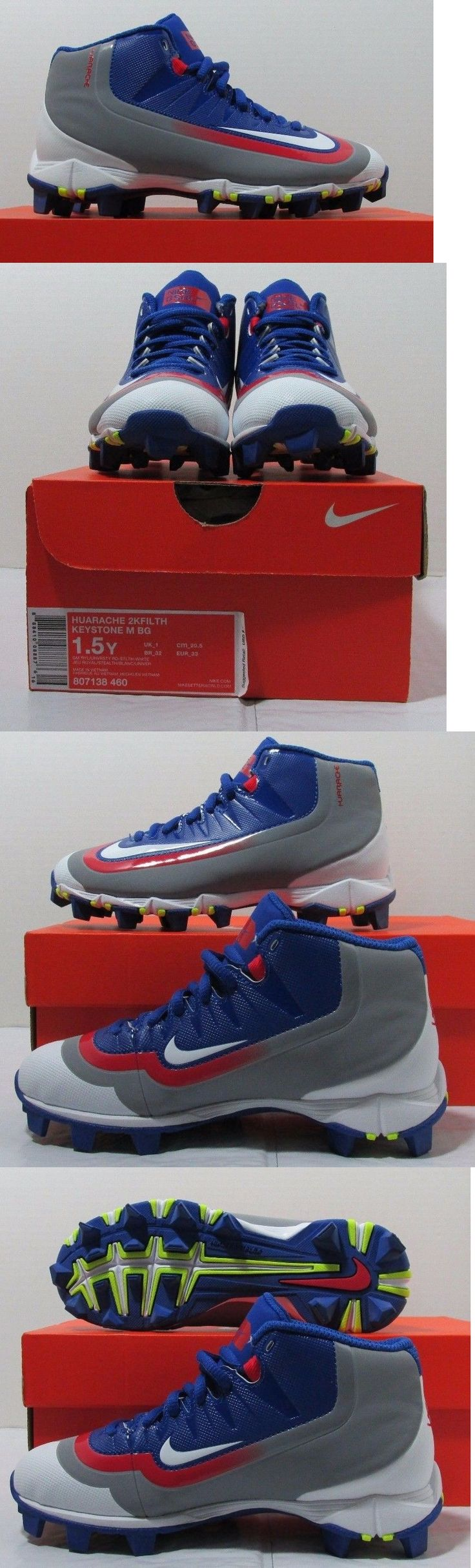 Youth 159061: Nike Huarache 2Kfilth Keystone 807138 460 Sz 1.5Y Youth Baseball Cleats New Cubs -> BUY IT NOW ONLY: $34.99 on eBay!