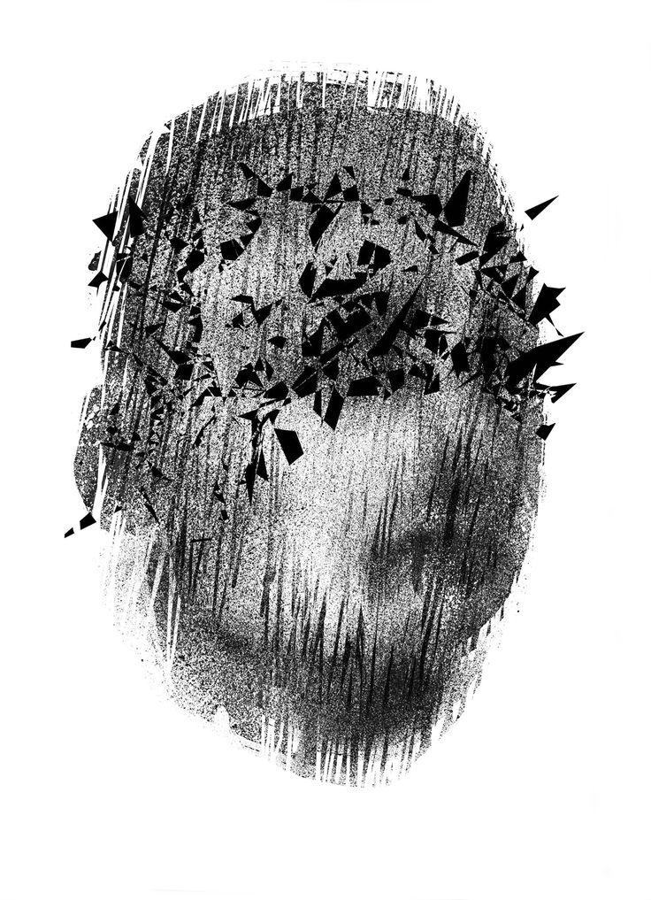Jeroboam, Szymon Ryczek, Serigrafia, 105,5 x 75 cm