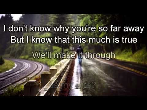 Daniel Bedingfield If You're Not The One Lyrics ♫ - YouTube