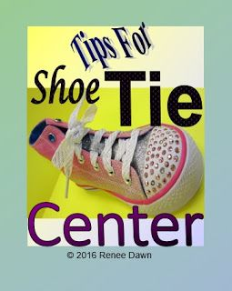 Never Tie a Shoe Again!  Tips for a Shoe Tie Center.