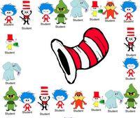 Dr. Seuss Smartboard Attendance  Ahhhhh!!  Look, @Lauren Thompson... it's your clipart!!!! :-)