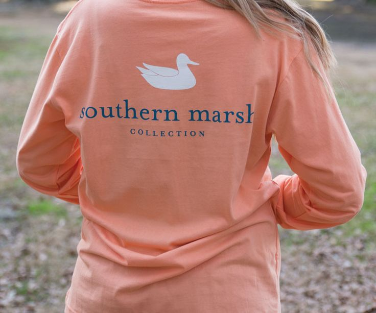 One of our most popular shirts, featuring the Southern Marsh mallard silhouette logo on the back and our Authentic logo on the front pocket. Available in a variety of colors to suit every season. The