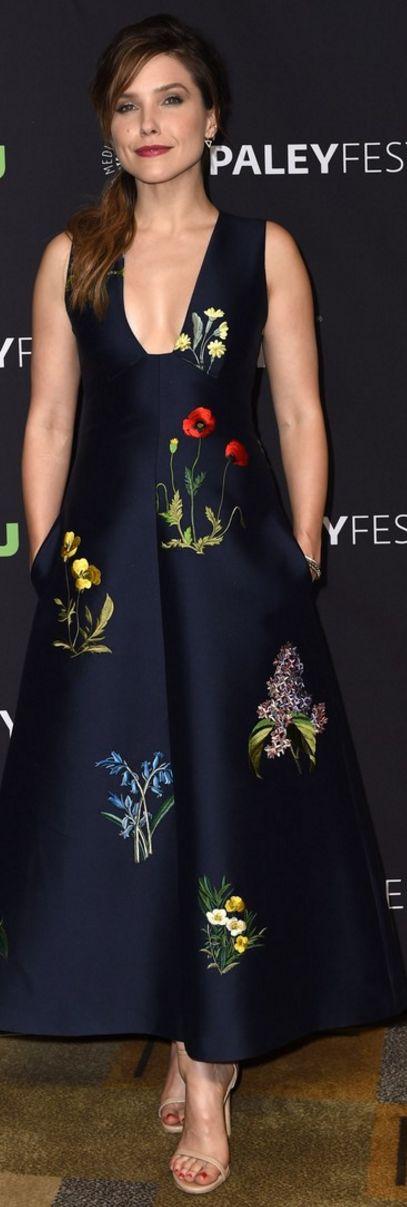 Sophia Bush: Dress – Stella McCartney  Shoes – Stuart Weitzman