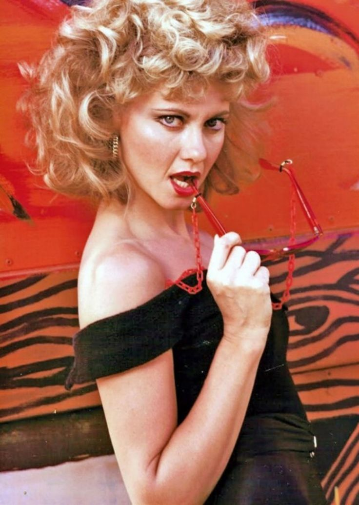 "Olivia Newton-John en ""Grease"", 1978."