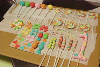 How to Make: Rainbow Swirl Lollipop Fondant Decor | Behind The Snacks