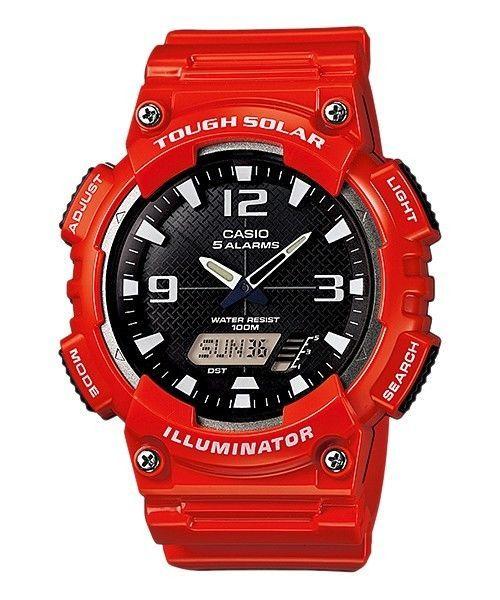 Casio Tough Solar Mens Watch Aq-S810Wc-4A Aq-S810Wc Aqs810Wc