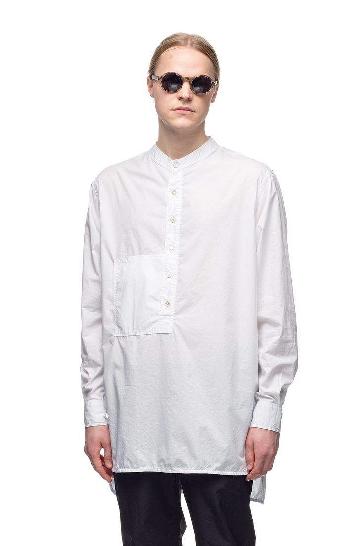 Our Legacy Tunic Shirt White Poplin
