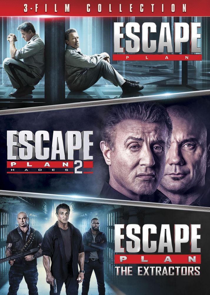 Escape Plan 3 Film Collection Dvd Best Buy Escape Plan Plan Movie Escape Movie