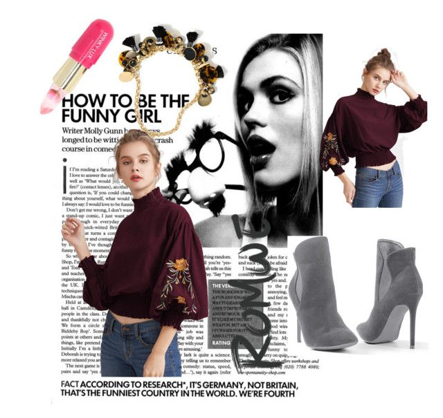 """""""Bez naslova #48"""" by noor-jjk ❤ liked on Polyvore featuring Venus, J.Crew and Winky Lux"""