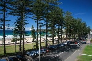Like the view from Lilah's apartment, Manly Beach