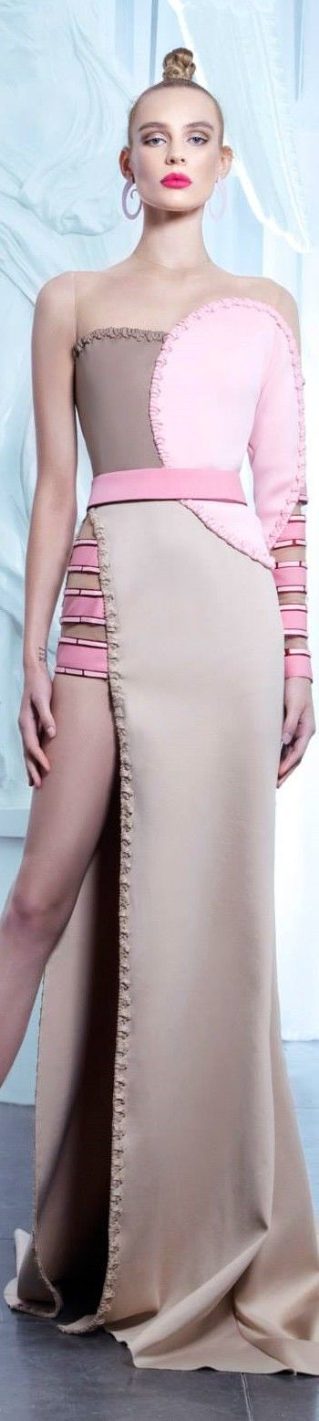 Nicolas Jebran couture 2015. So different but I like for an event like the VMAs or something fun like that