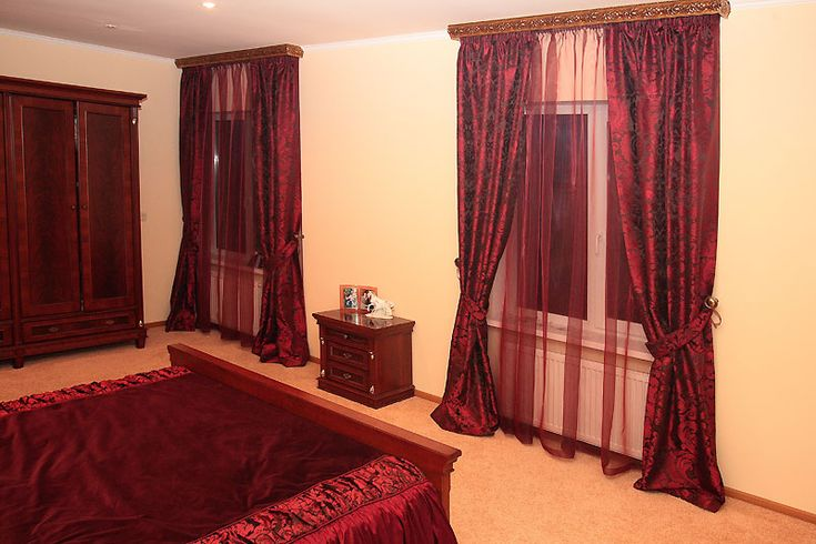 Шторы для спальни #curtains #bedroom #window #interior #design #decor #beautiful #modern