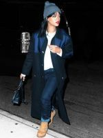 The New Normcore, According To Rihanna #refinery29  http://www.refinery29.com/2014/09/74963/rihanna-timberland-boots-fall-casual-outfit