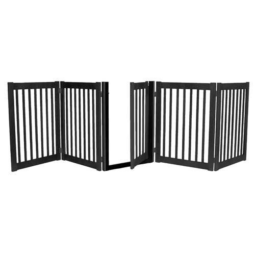 Free Shipping on this Dog Gate Enter ShipFree as your discount code at checkout Amish Made construction makes this dog gate the best choice for a wide gate with walk through door. Ideal for wide openi