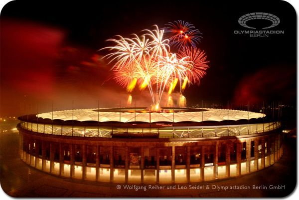 Olympiastadion Berlin, one of the most frequented sights of Berlin.