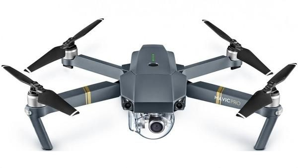 DJI Mavic Pro Drone  Description: Capture images from a whole new different perspective with the DJI Mavic Pro Drone. Foldable to the size of a bottle of water, it's easy to take this drone anywhere.           Wherever You Go        Uncompromised 4K Video The DJI Mavic Pro Drone comes with a powerful camera, capable of capturing 4K videos at 30fps. Thanks to its 3-axis, mechanical stabilisation system, you can capture crystal clear footage and eliminate camera tilts and bumps.      Venture…