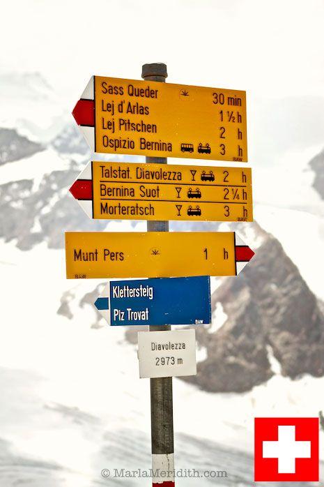 Summer in the Swiss Alps! ~ Diavolezza fixed rope climb on FamilyFreshCooking.com