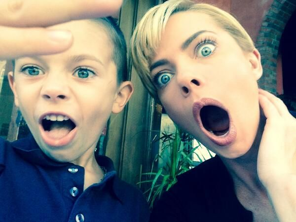 Jaime Pressly Open Mouth