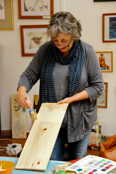 chalk paint!!! have mercy ~ this is Ann Sloan and this is her paint!! it is a little slice of heaven. The possibilities are endless!!