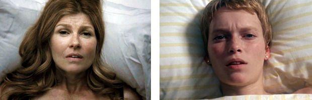 «Ребенок Розмари» / Rosemary's Baby Роман Полански, 1968 Семья в первом сезоне «Истории» состояла из психотерапевта, его жены, пережившей выкидыш и измену мужа, и депрессивной девочки. Главный сюжет закручивается вокруг Вивиан, которую, как и Розмари в известном фильме Романа Полански, насилует демон. Те самые моменты в фильме и сериале практически идентичны.