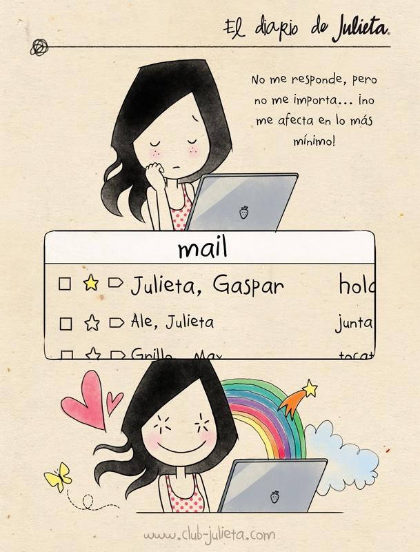 El diario de Julieta - No me afecta  www.club-julieta.com