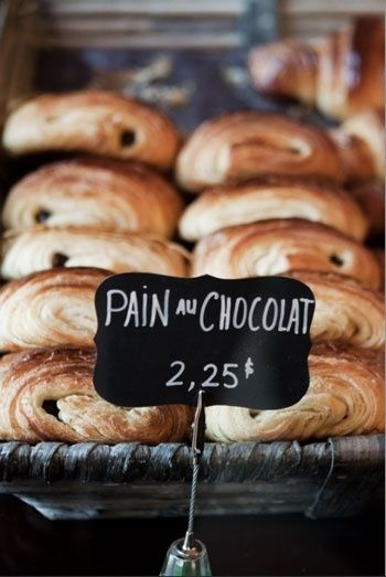 This has become a staple food for me- pain au chocolat