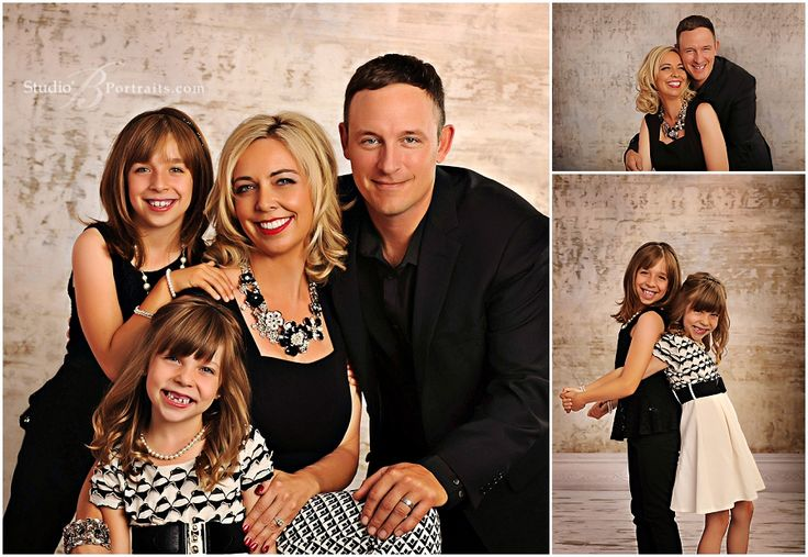 Best Formal Holiday Family Pictures At Studio B Portraits