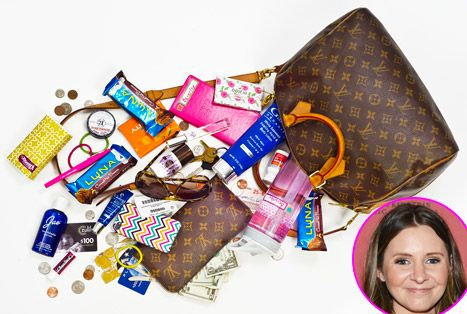 Check out what's in Beverley Mitchell's bag!
