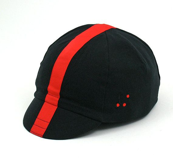 Hey, I found this really awesome Etsy listing at https://www.etsy.com/listing/99328139/cappello-nero-rosso-cycling-cap..........
