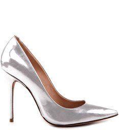 Scarpin Stiletto Silver