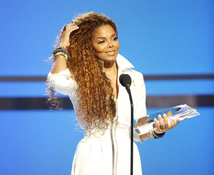 Janet Jackson at the 2015 BET Awards