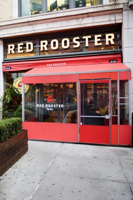 Red Rooster, New YorkNamed after an iconic Harlem speakeasy, Red Rooster not only serves up legendary comfort food, it's also a place that celebrates local artists and musicians, and honors the history of the neighborhood. The restaurant is co-owned by Marcus Samuelsson, whom you have probably seen as a judge on Food Network's Chopped. #refinery29 http://www.refinery29.com/2016/07/114169/celebrities-favorite-restaurants#slide-29