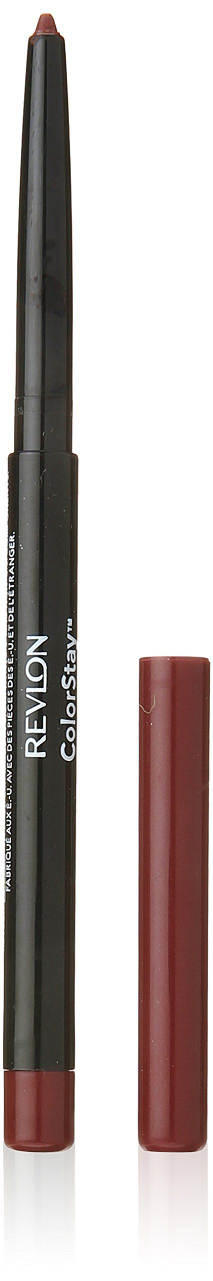 Revlon Colorstay Lipliner, Plum, 0.01 Ounce. Perfect any lip look with Colorstay Lipliner, now updated to include full-coverage, sheer, and clear shades. Exclusive Colorstay technology with SoftFlex provides longwearing definition, helps lipcolor last longer and prevents feathering and bleeding. Available in 10 full- coverage shades, 5 sheer shades, and 1 clear shade.