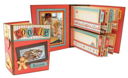 Pinecone Press recipe album: Cards Pap, Recipes Cards, Chunky Books, Recipe Cards, Press Recipes, Min Books, Scrapbook Recipe Cooking Bak, Recipes Scrapbook, Recipes Books Cards