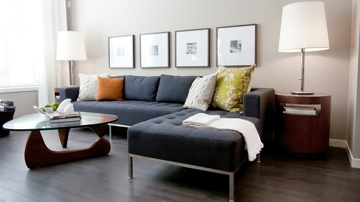 Gus* Modern | Our Carter Sectional Sofa makes an appearance in another living room. Designed by Natalie Fuglestveit Interior Design | Photography bu2026 : carter sectional sofa - Sectionals, Sofas & Couches
