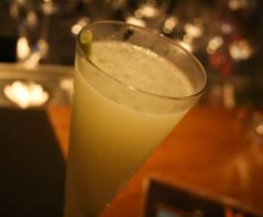 Malai's Lemongrass Fizz - refreshing and delicious.