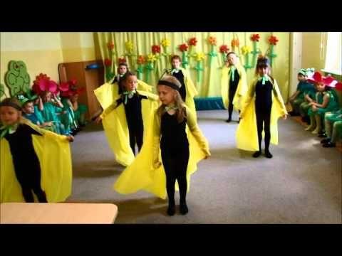 taniec motyli- Przedszkole nr 10 w Lęborku