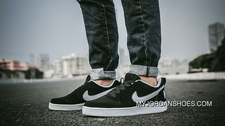 http://www.myjordanshoes.com/nike-court-borough-low-838937-black-white-swoosh-best.html NIKE COURT BOROUGH LOW 838937 BLACK WHITE SWOOSH BEST : $88.83