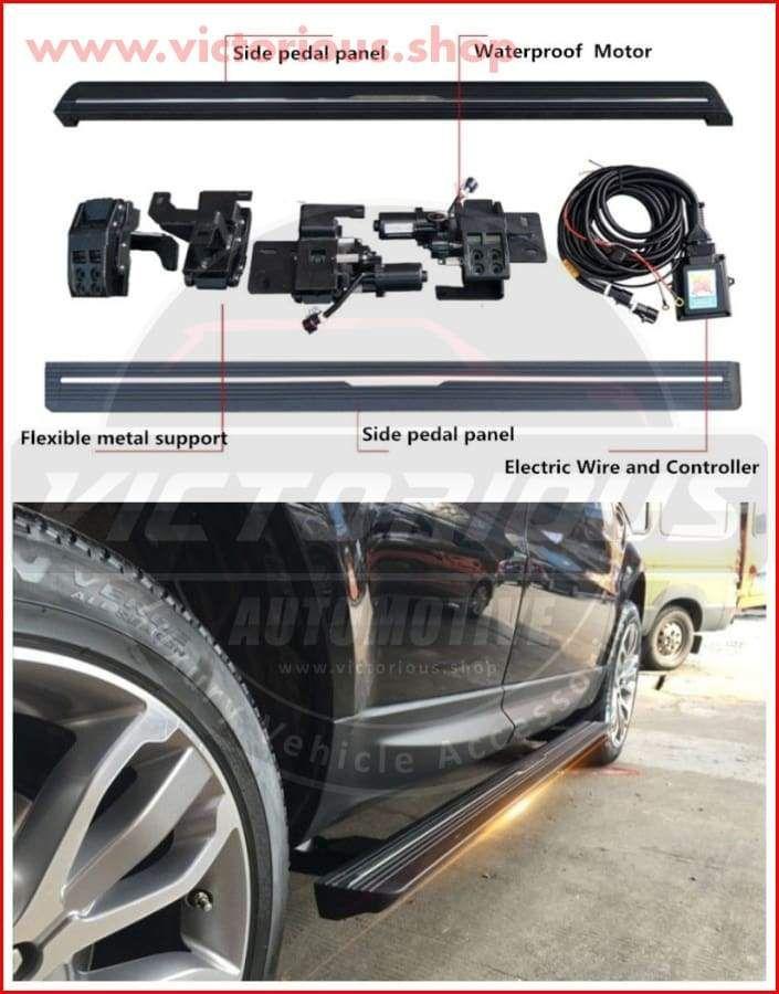 Deployable Side Steps For Range Rover Vogue Sport Velar Evoque Range Rover Range Rover Accessories Sides