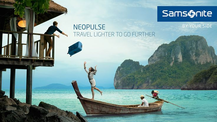 Travel Lighter To Go Further - Samsonite