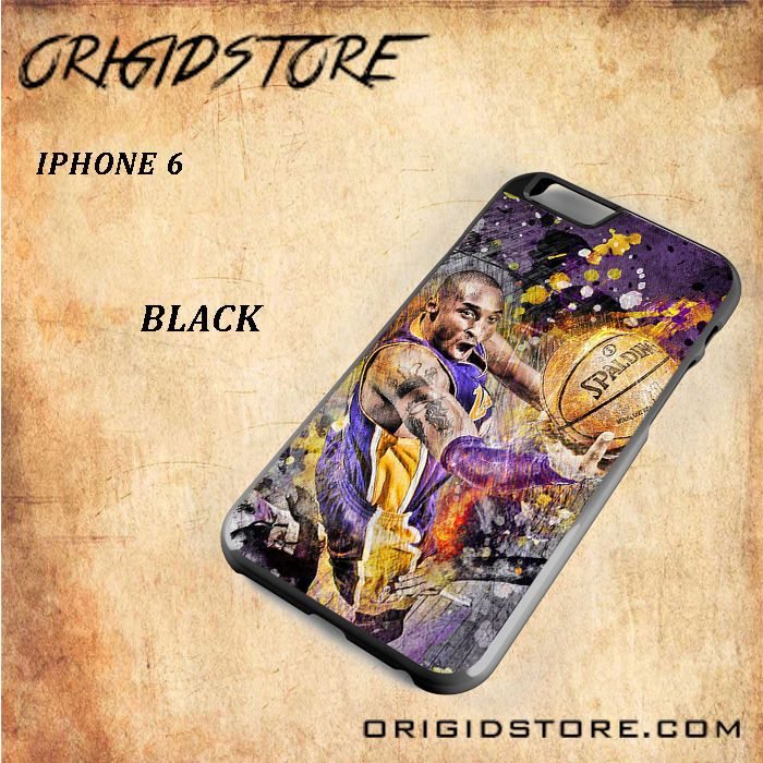 Kobe Bryan Spalding Basketball For Iphone 6 Snap On and 3D Case