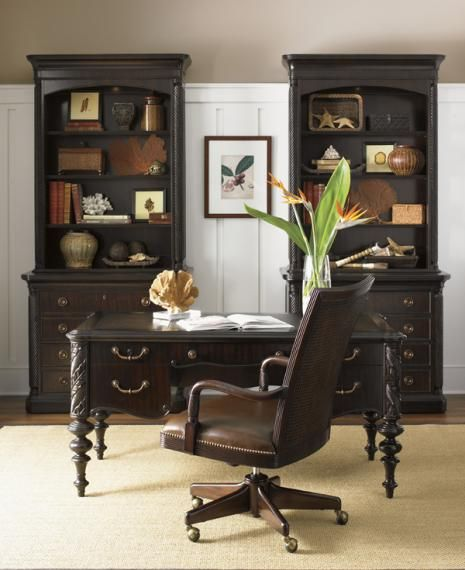 British Colonial style dark mahogany.                                                                                                                                                                                 More