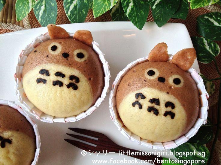 // Totoro Deco Steam Cake //