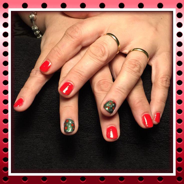 Mooie kerstnagels #nagels #kerst #bypurplenails