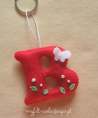 Darling litlet felt ornaments! My Felt http://myfelt-carla.blogspot.pt/search?updated-max=2012-10-30T18:34:00Z&max-results=70