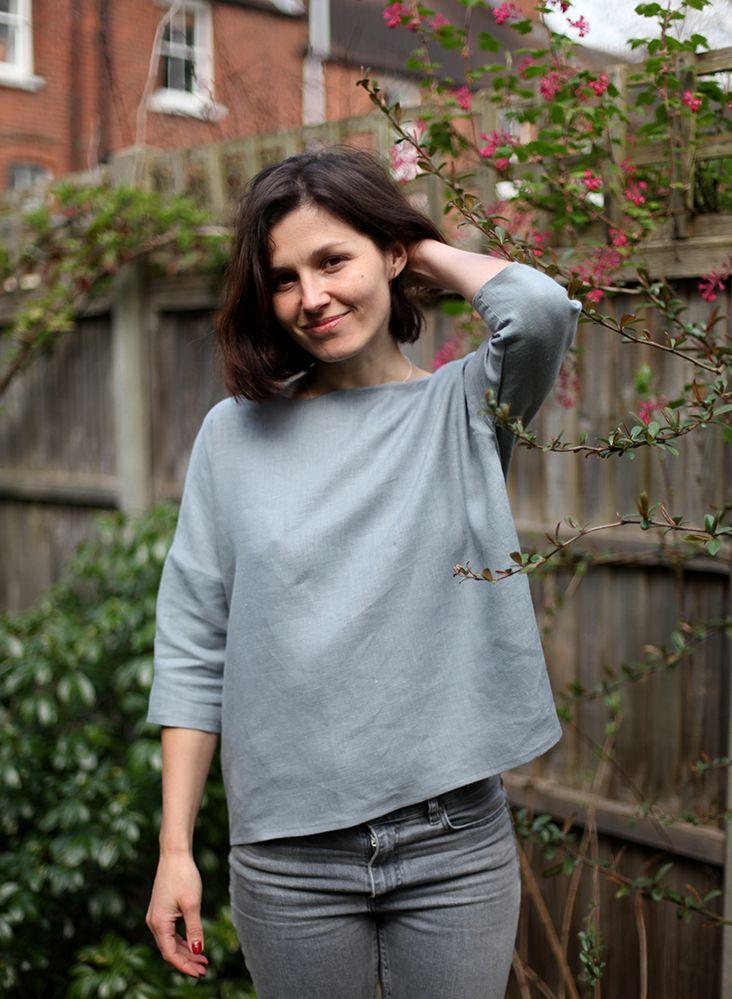 Drop Shoulder Top Tutorial | Fabrics-Store.com - The Thread